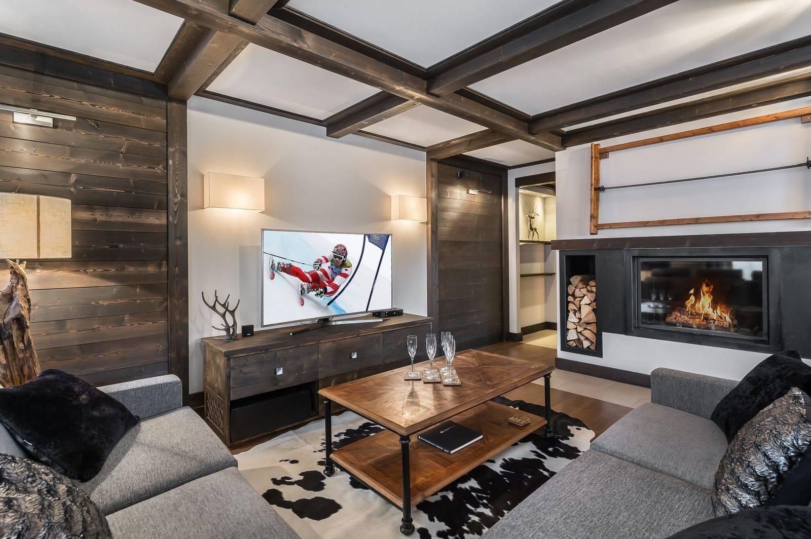 Courchevel 1650 Luxury Rental Appartment Neroflier Living Room 3