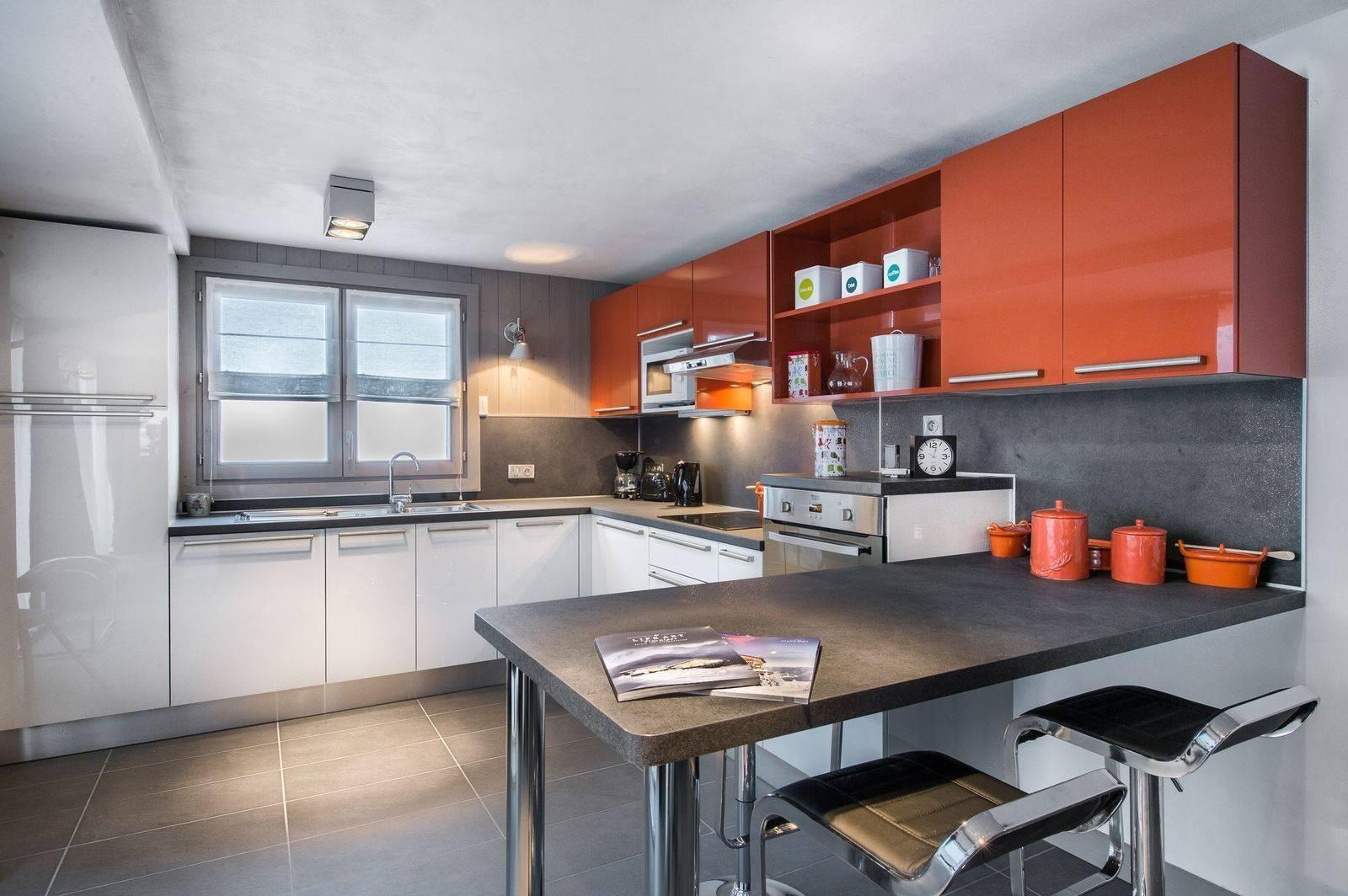 Courchevel 1650 Location Appartement Luxe Neustadelite Cuisine