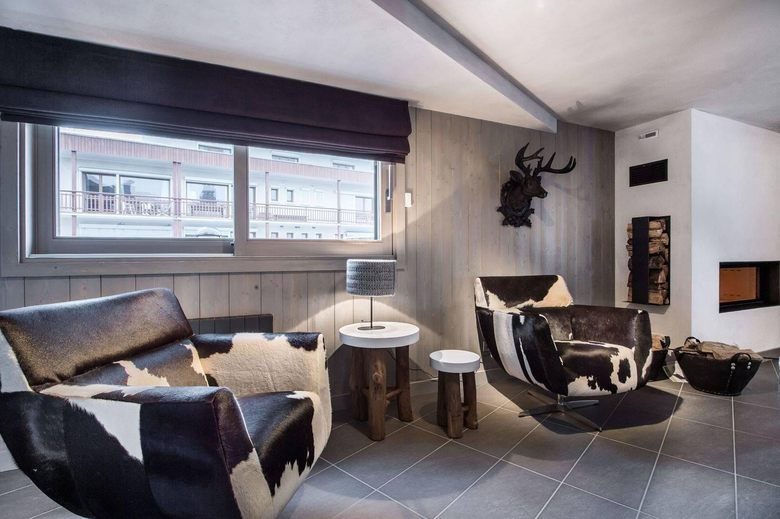 Courchevel 1650 Location Appartement Luxe Neustadelite Séjour 4