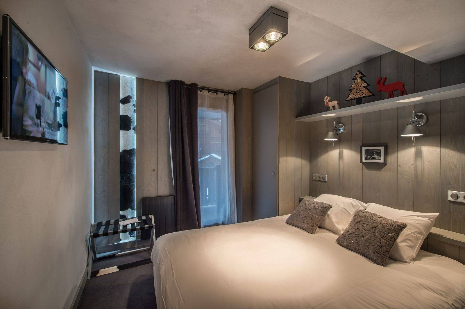 Courchevel 1650 Location Appartement Luxe Simeline Chambre 2