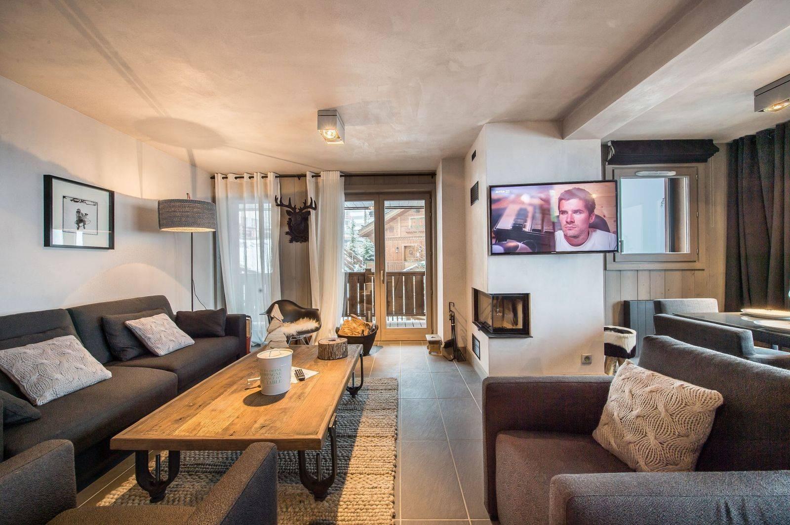 Courchevel 1650 Location Appartement Luxe Simeline Séjour