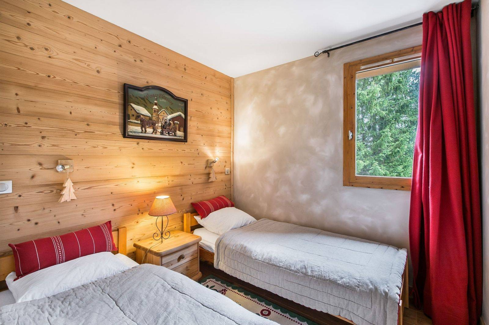 Courchevel 1650 Location Appartement Luxe Temadere Chambre 2