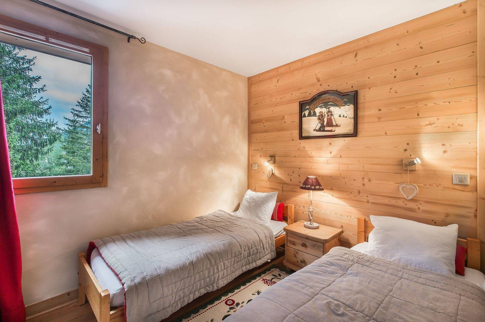 Courchevel 1650 Location Appartement Luxe Temadere Chambre 3