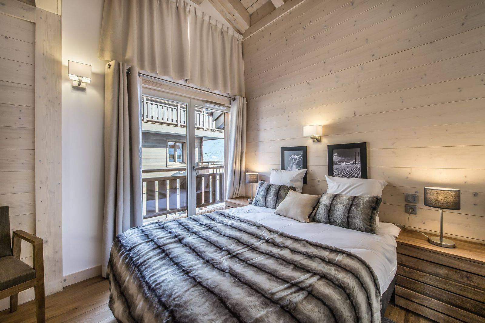 Courchevel 1650 Location Appartement Luxe Tengerite Chambre 2