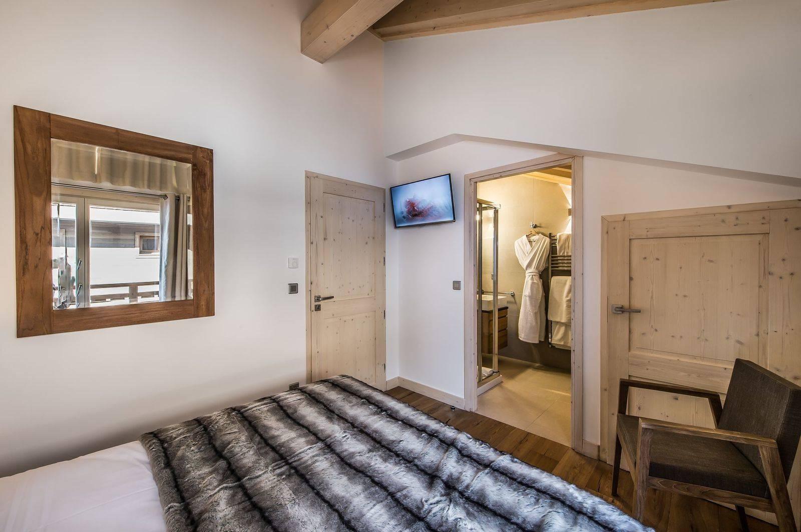 Courchevel 1650 Location Appartement Luxe Tengerite Chambre 5