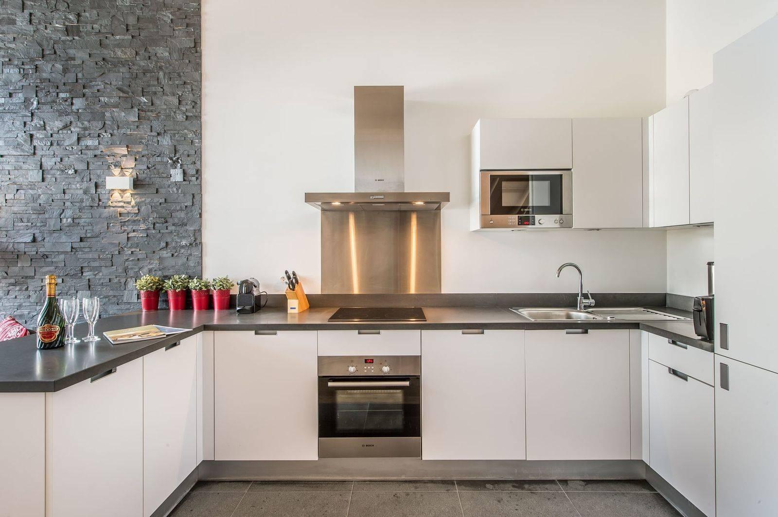 Courchevel 1650 Location Appartement Luxe Tengerite Cuisine