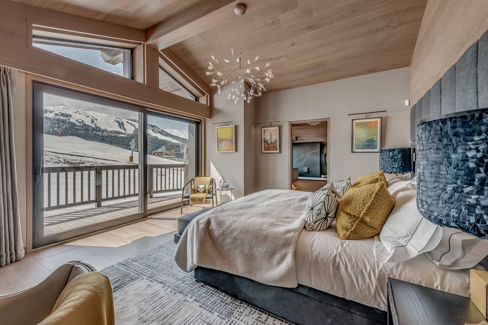 Courchevel 1650 Luxury Rental Chalet Elana Bedroom 7