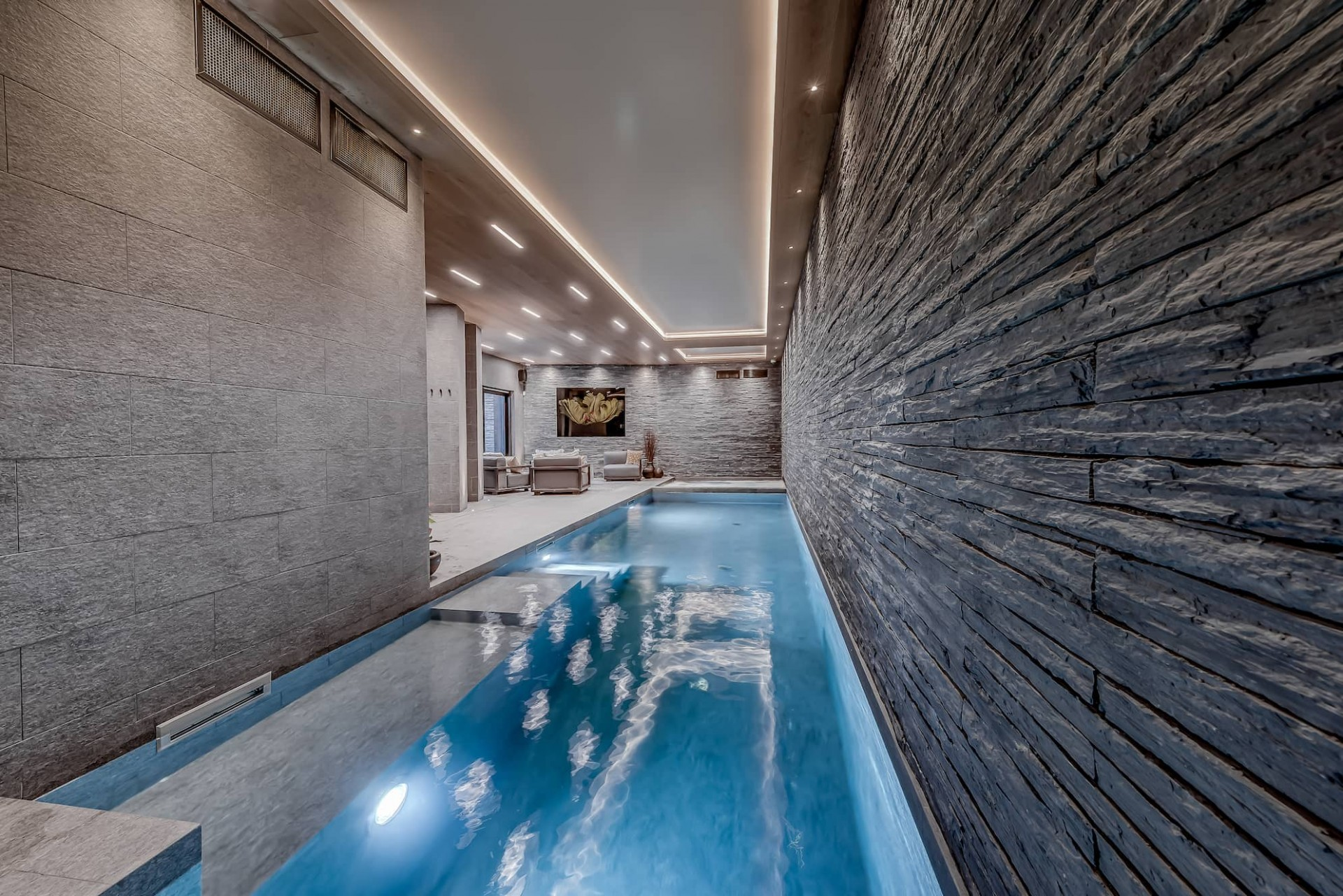 Courchevel 1650 Luxury Rental Chalet Elana Pool 2