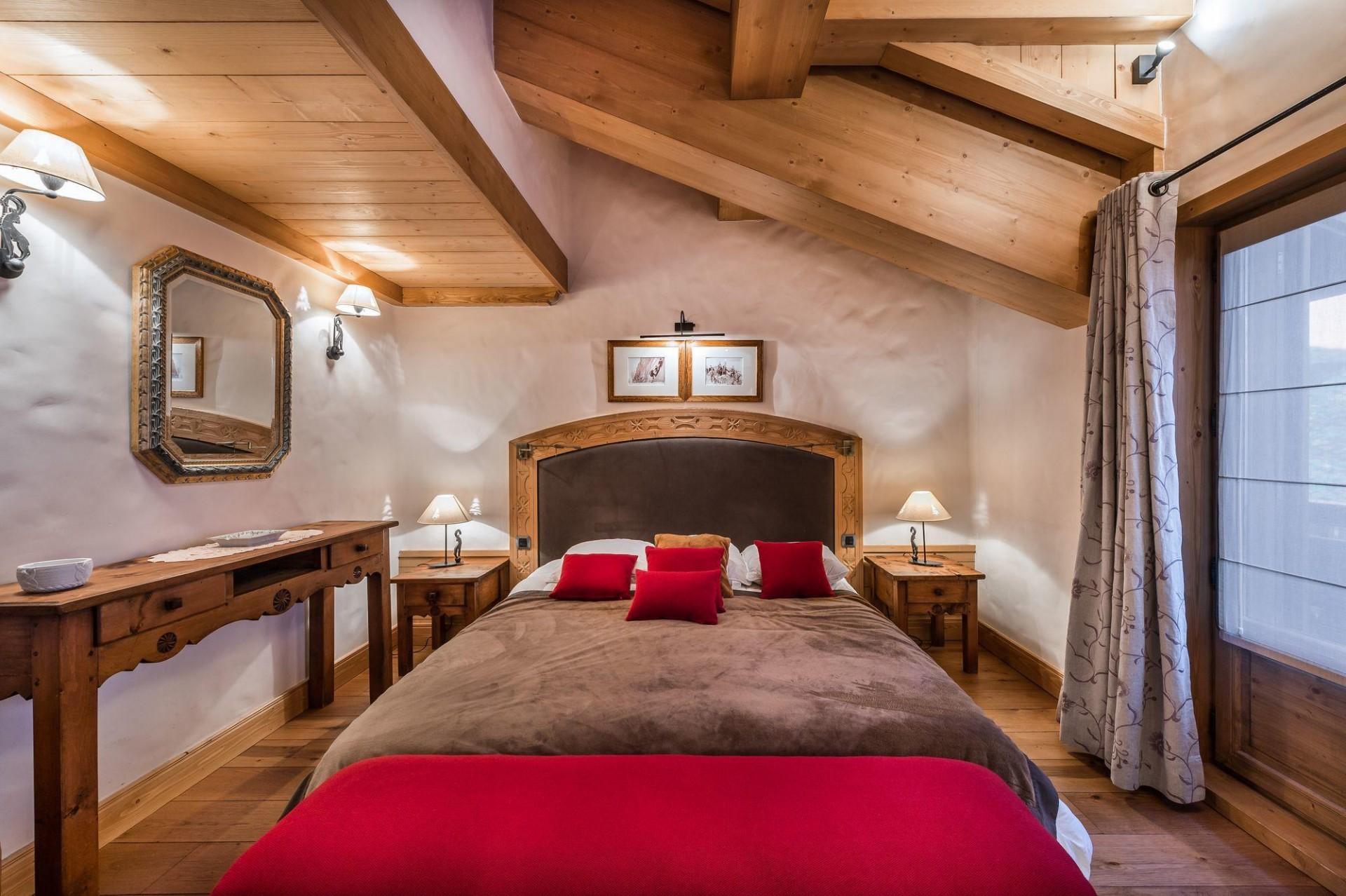 Courchevel 1850 Location Appartement Luxe Cetanite Chambre 2