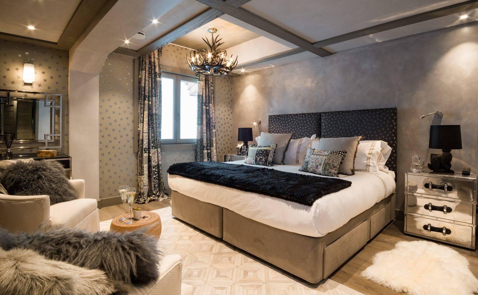 Courchevel 1850 Location Appartement Luxe Cetinape Chambre