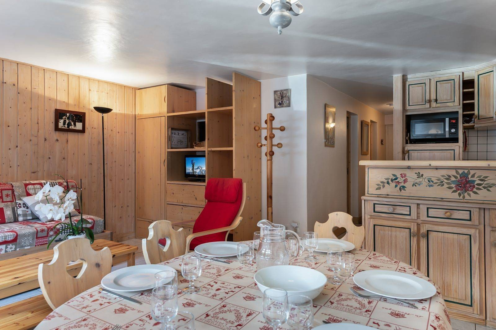 Courchevel 1850 Location Appartement Luxe Cetonite Salle A Manger
