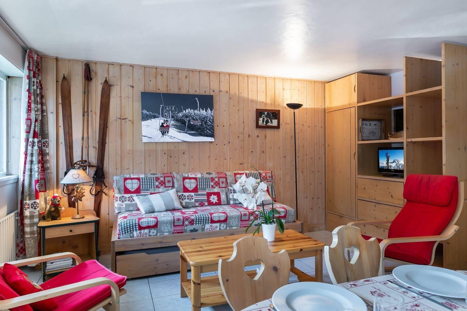 Courchevel 1850 Location Appartement Luxe Cetonite Séjour 2