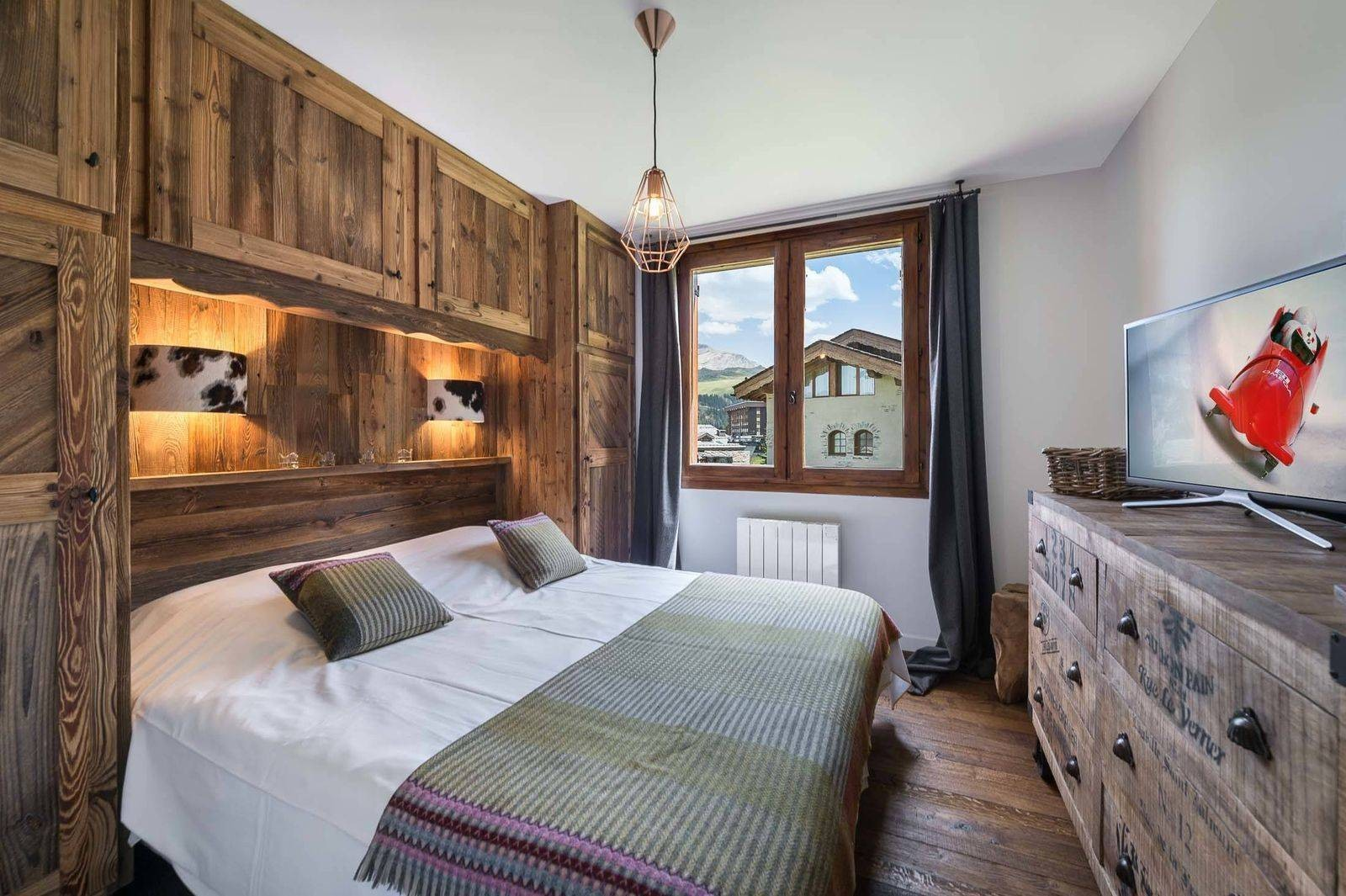 Courchevel 1850 Luxury Rental Appartment Eciello Bedroom 2
