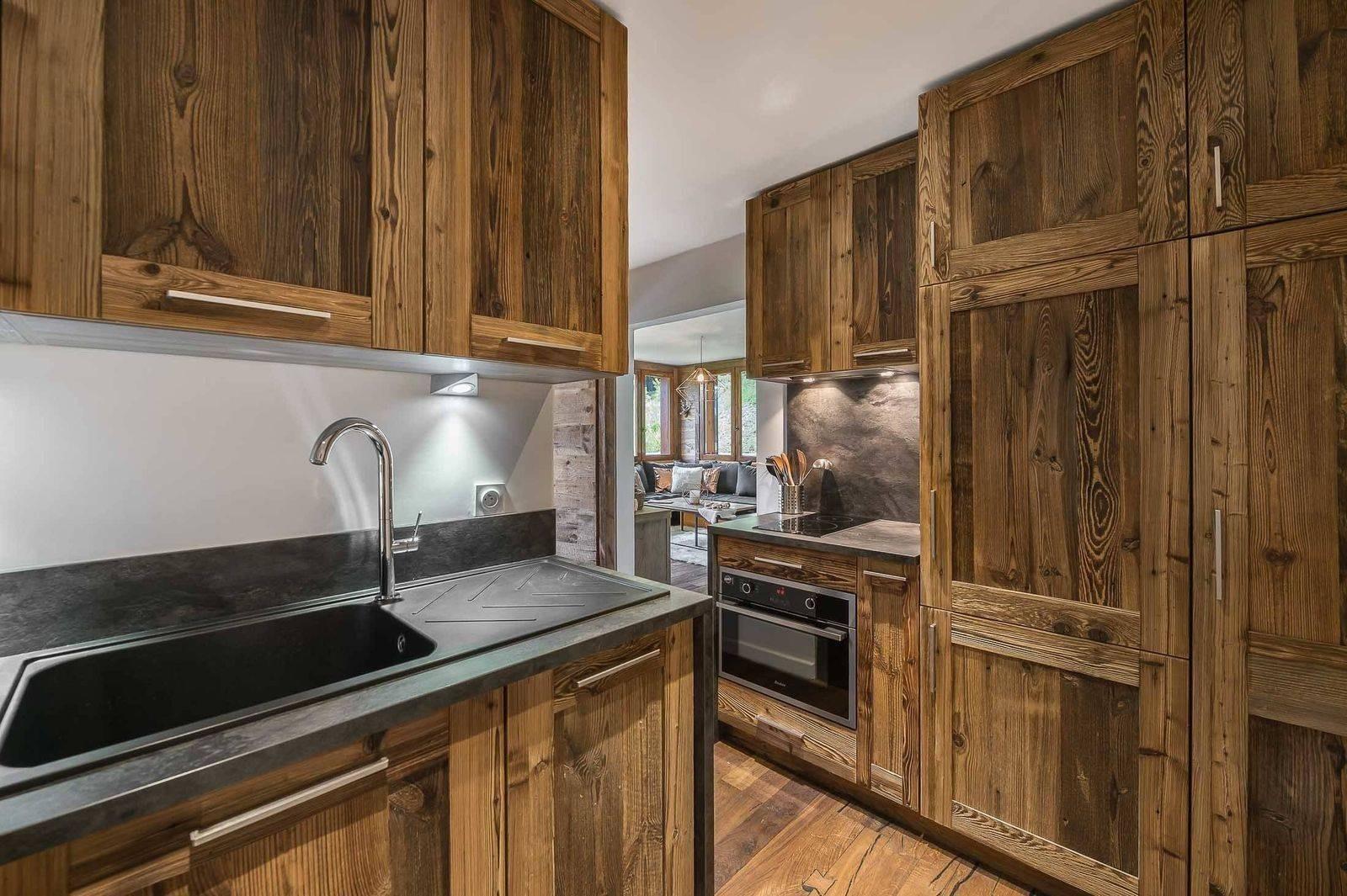 Courchevel 1850 Luxury Rental Appartment Eciello Kitchen