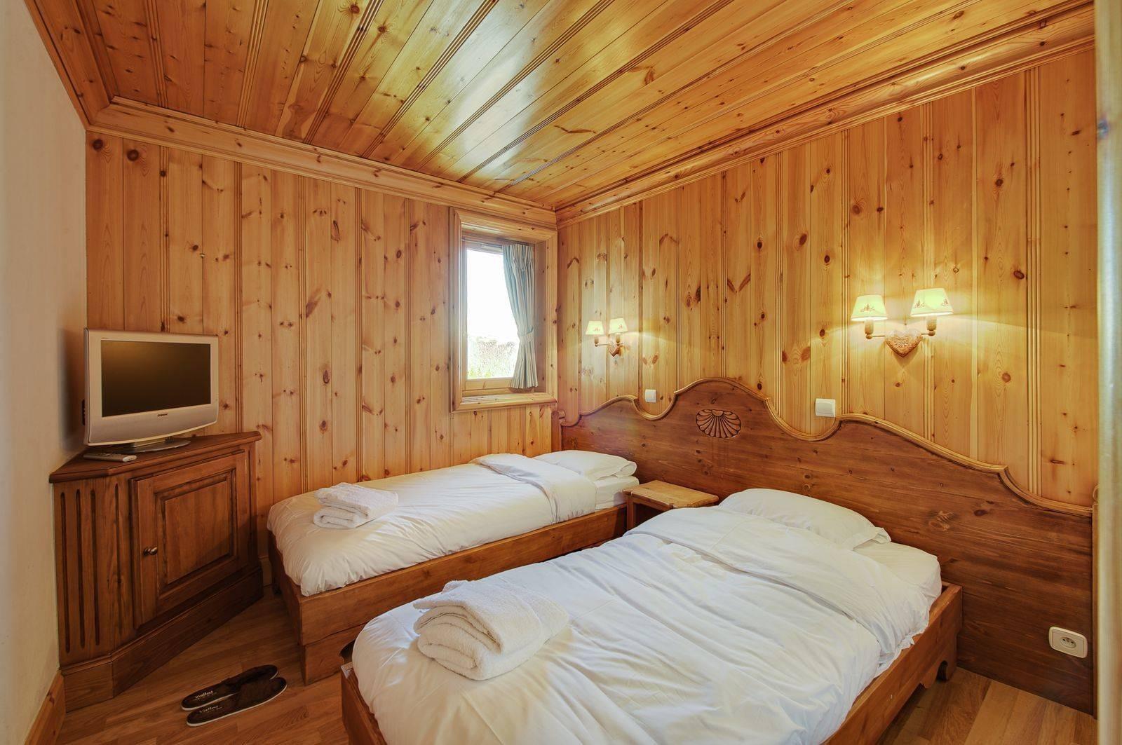 Courchevel 1850 Location Appartement Luxe Mereli Chambre 2
