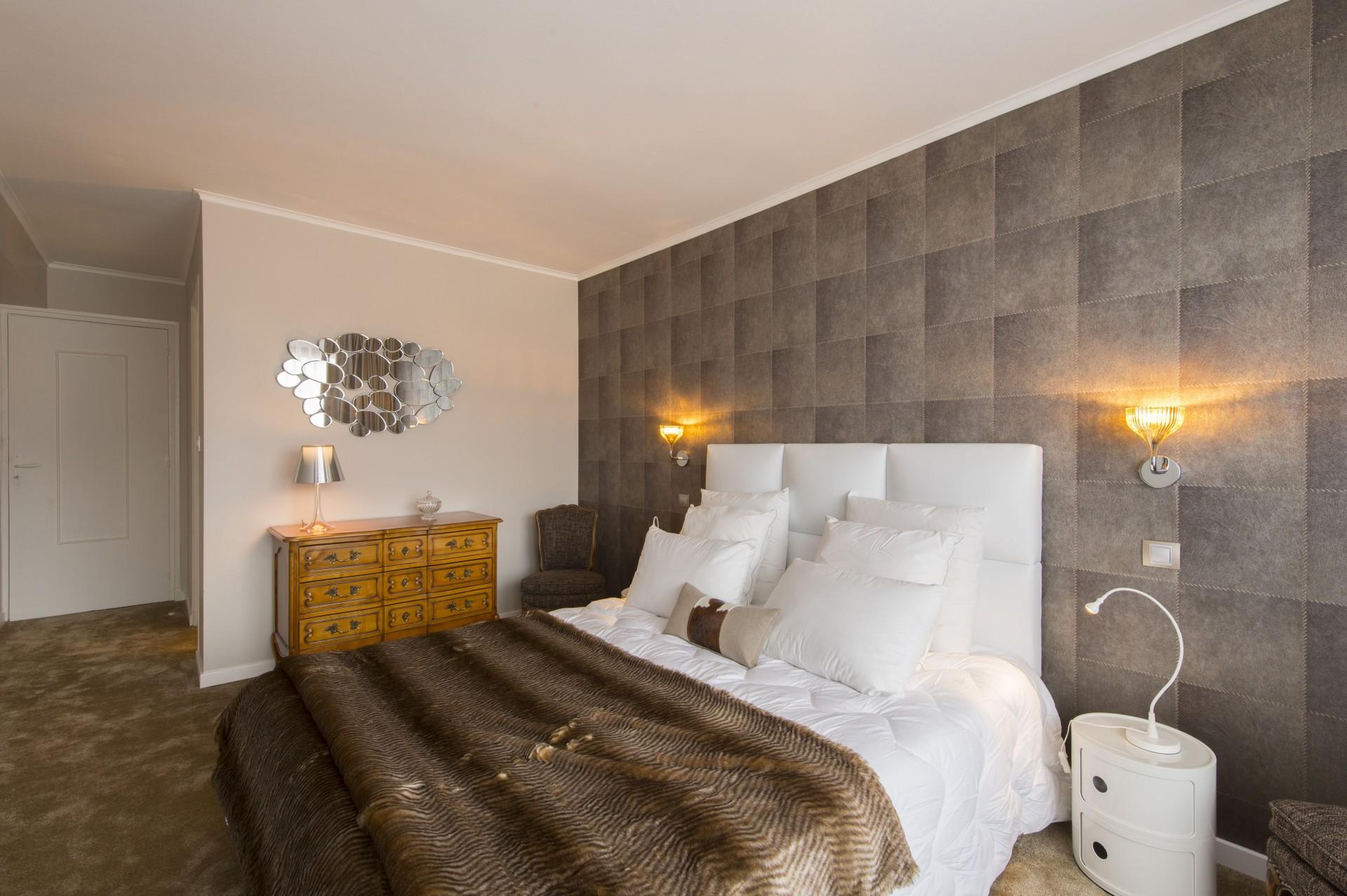 Courchevel 1850 Luxury Rental Appartment Taramite Bedroom 2