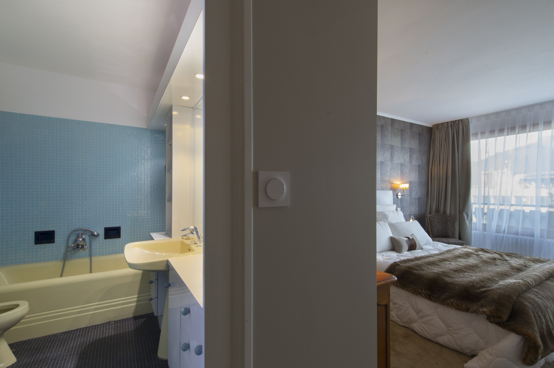 Courchevel 1850 Luxury Rental Appartment Taramite Bedroom 3