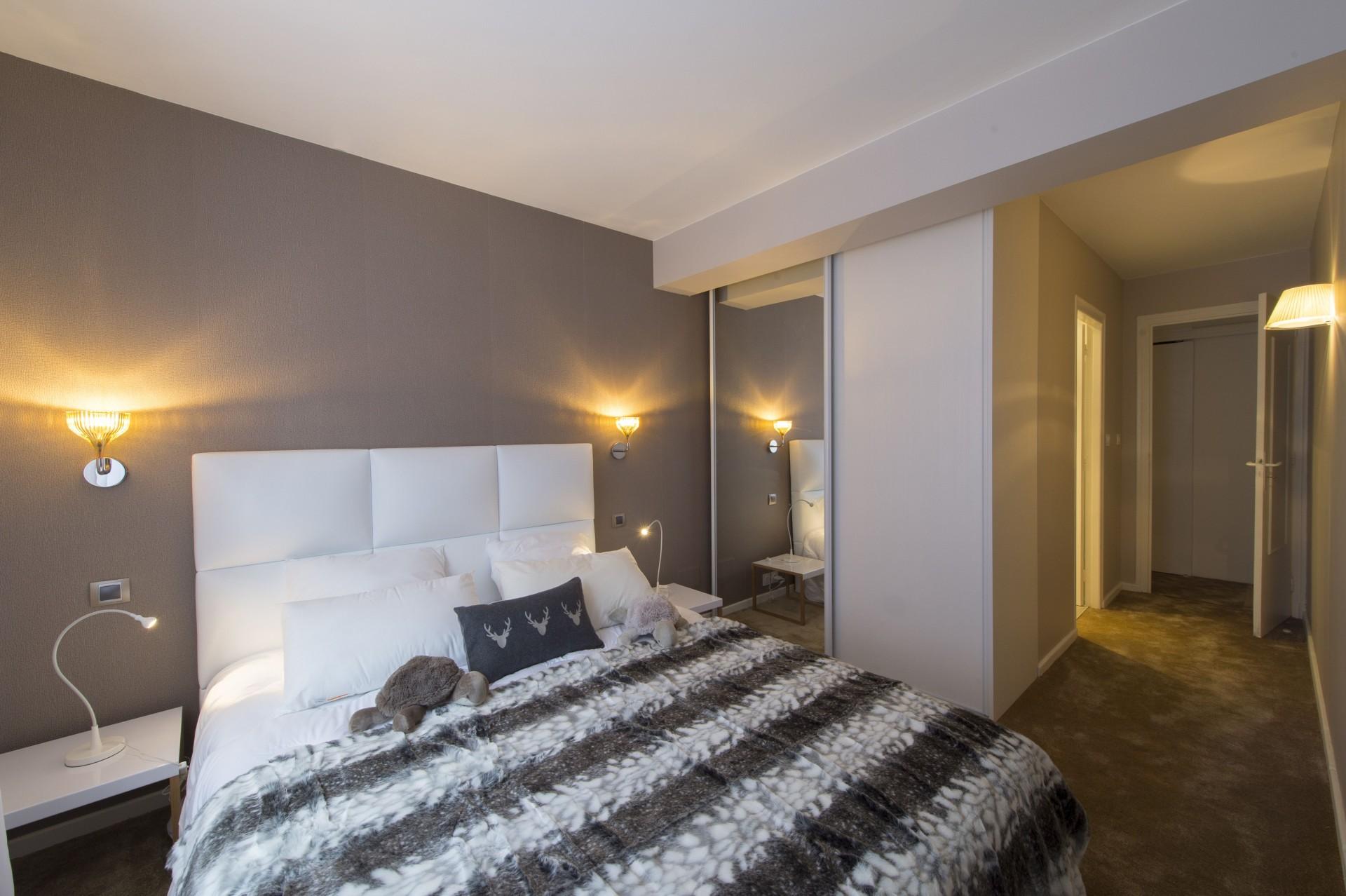 Courchevel 1850 Luxury Rental Appartment Taramite Bedroom 6