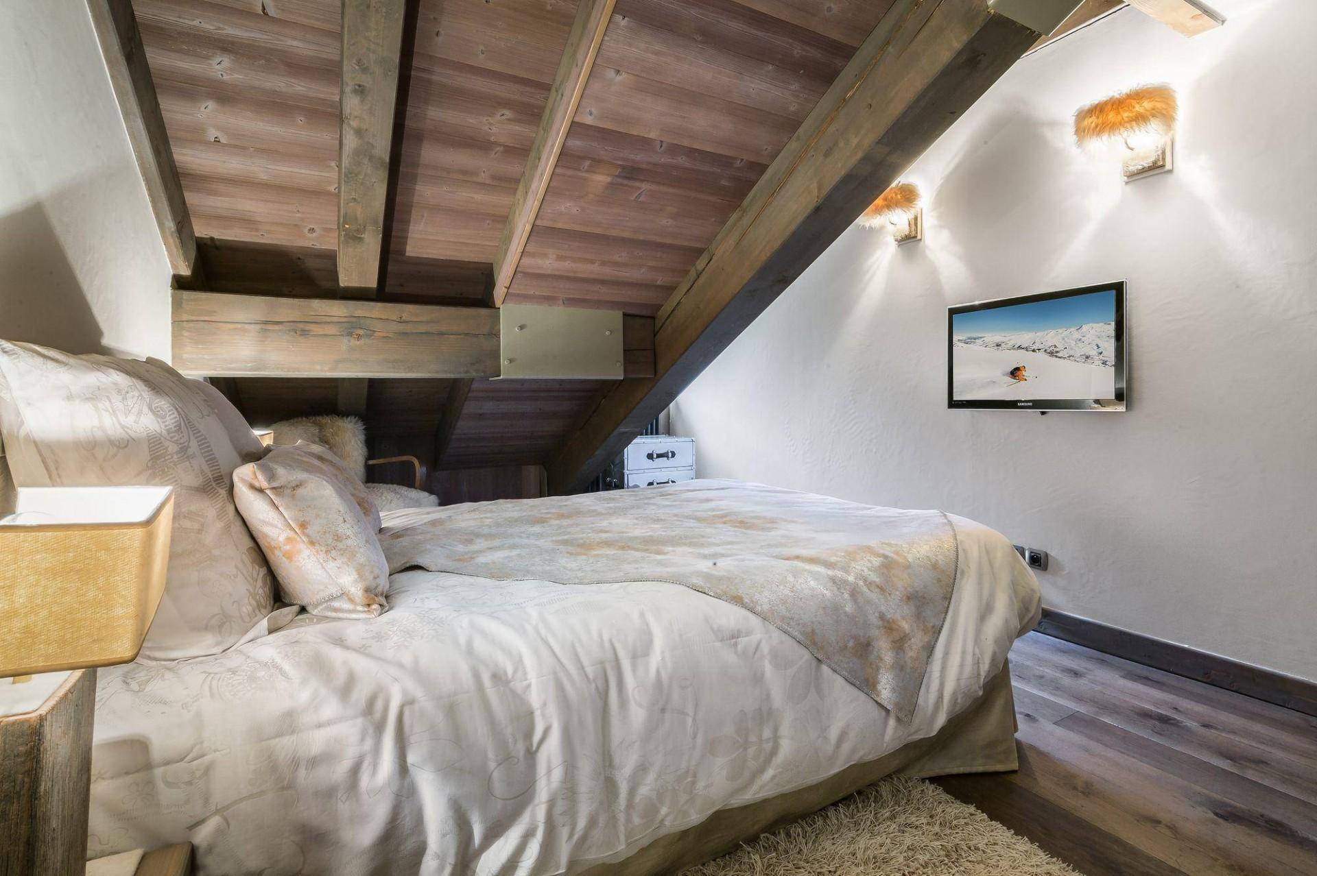 Courchevel 1850 Luxury Rental Appartment Viziro Bedroom 2