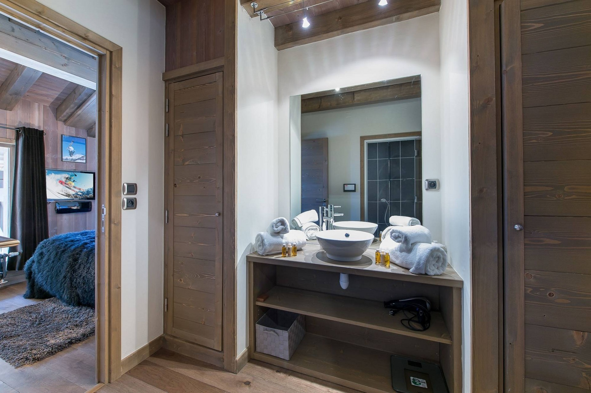 Courchevel 1850 Luxury Rental Appartment Viziro Bathroom