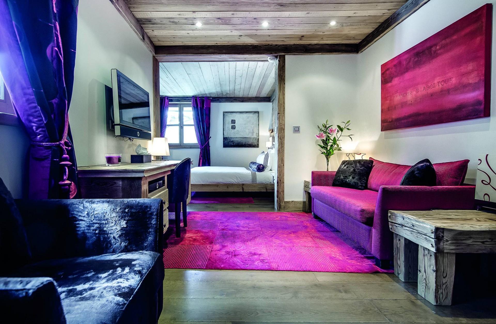 Courchevel 1850 Luxury Rental Chalet Bepalite Bedroom