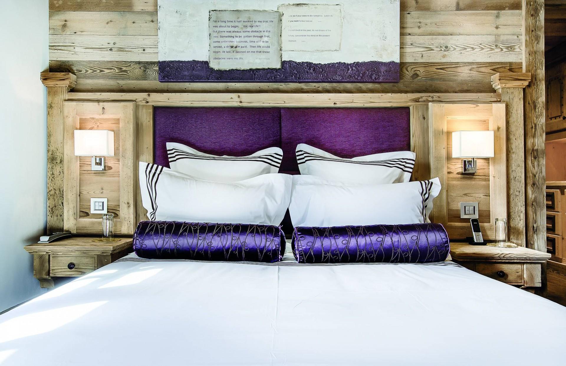 Courchevel 1850 Luxury Rental Chalet Bepalite Bedroom 2