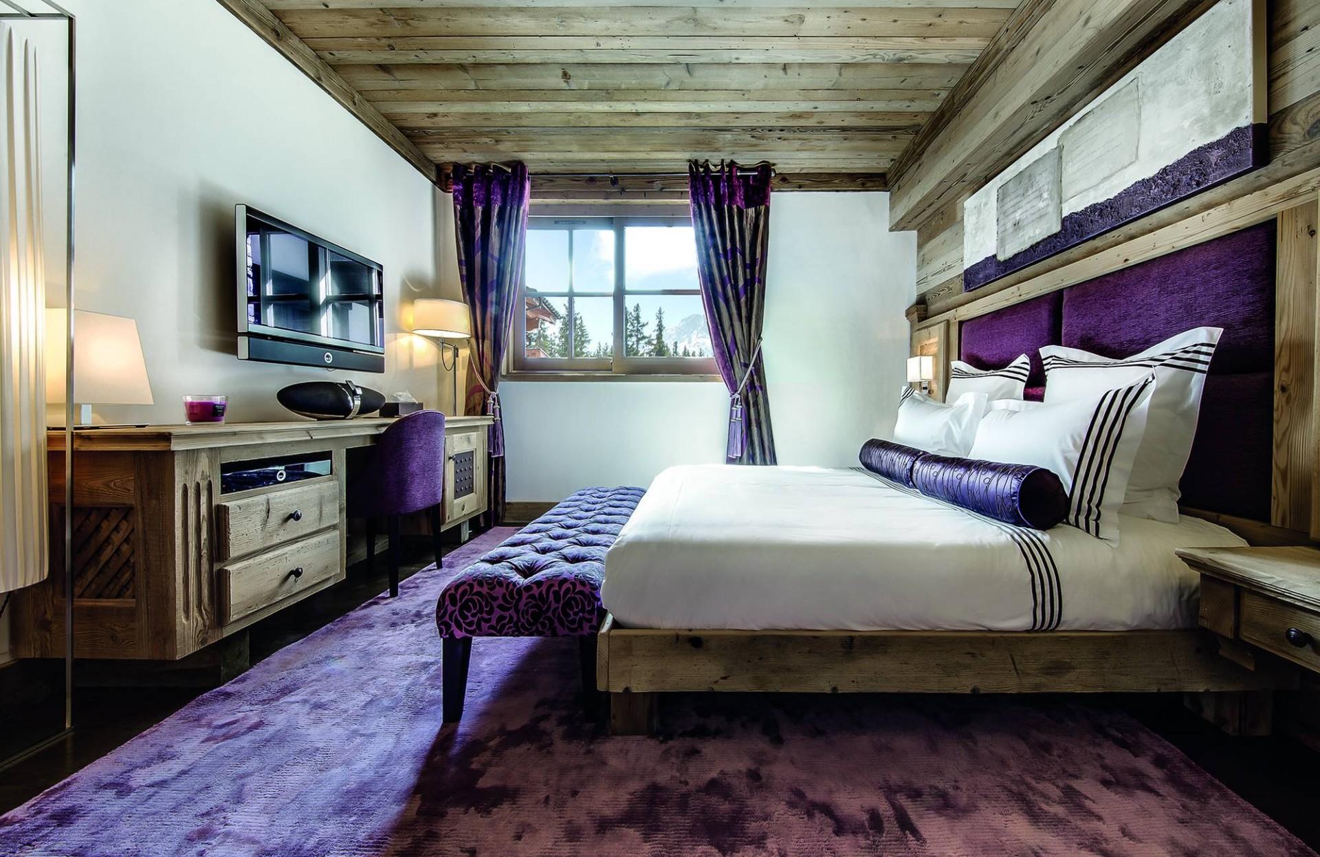 Courchevel 1850 Luxury Rental Chalet Bepalite Bedroom 3
