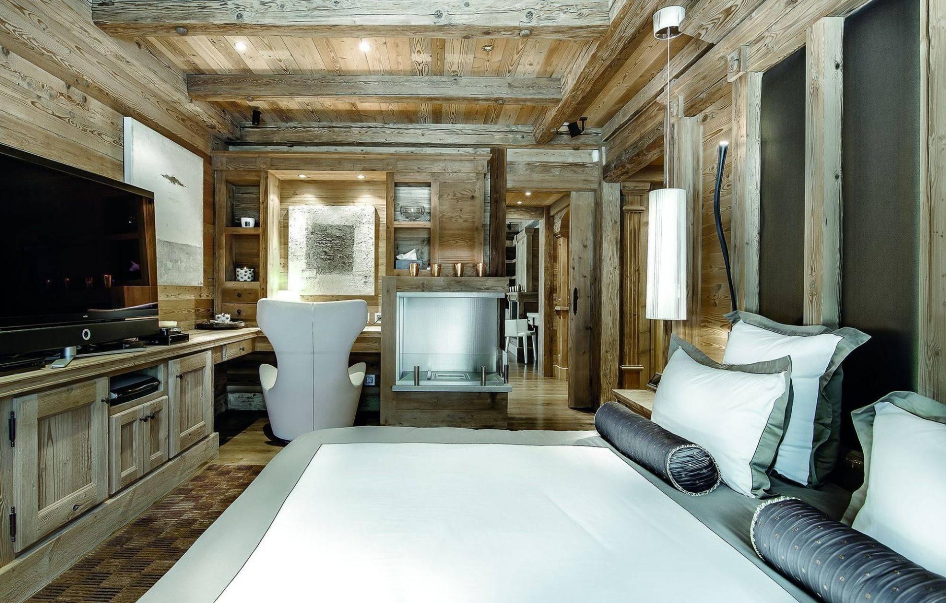 Courchevel 1850 Luxury Rental Chalet Bepalite Bedroom 5