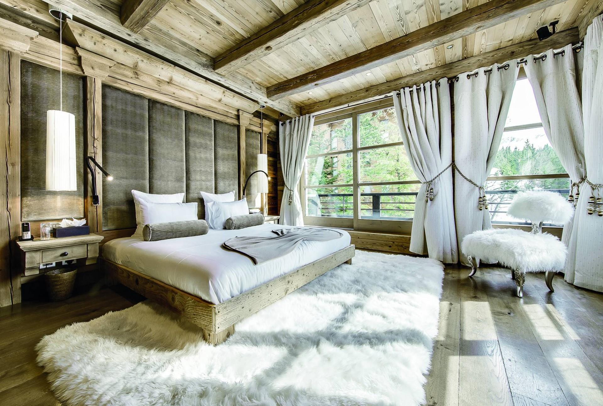 Courchevel 1850 Luxury Rental Chalet Bepalite Bedroom 6