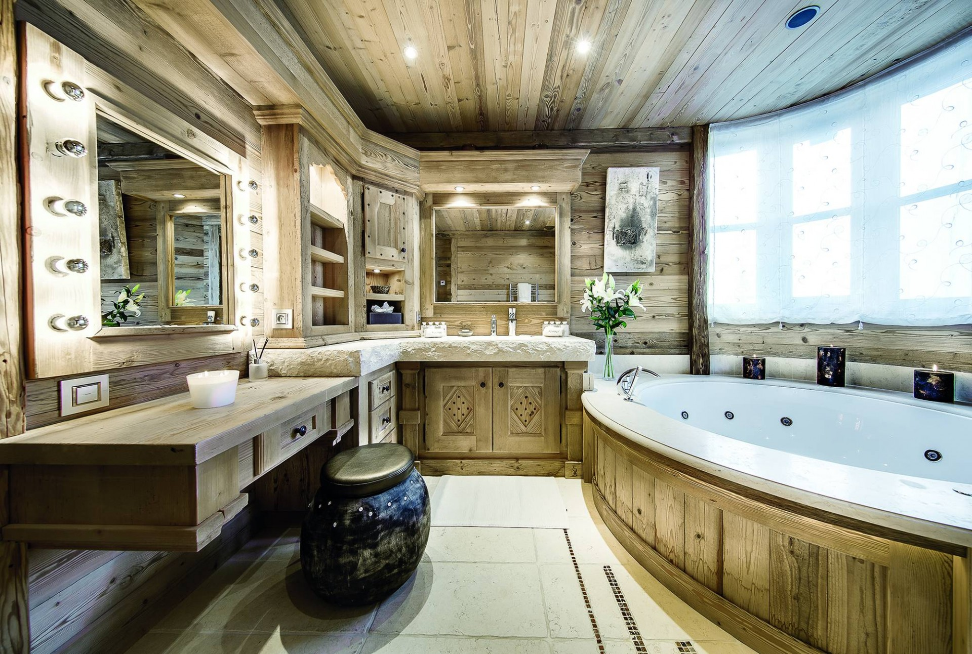 Courchevel 1850 Luxury Rental Chalet Bepalite Bathroom 3