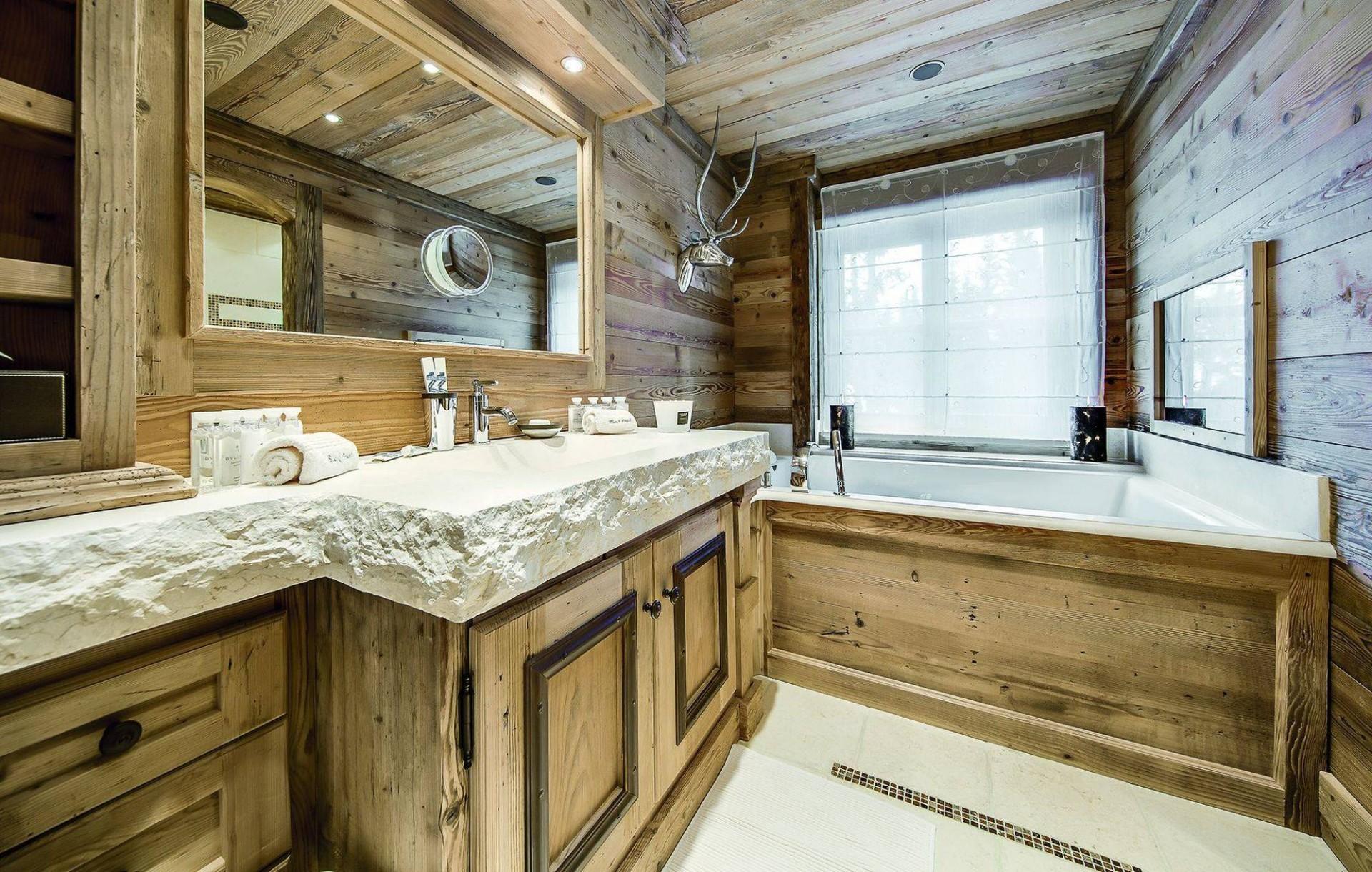 Courchevel 1850 Luxury Rental Chalet Bepalite Bathroom 4