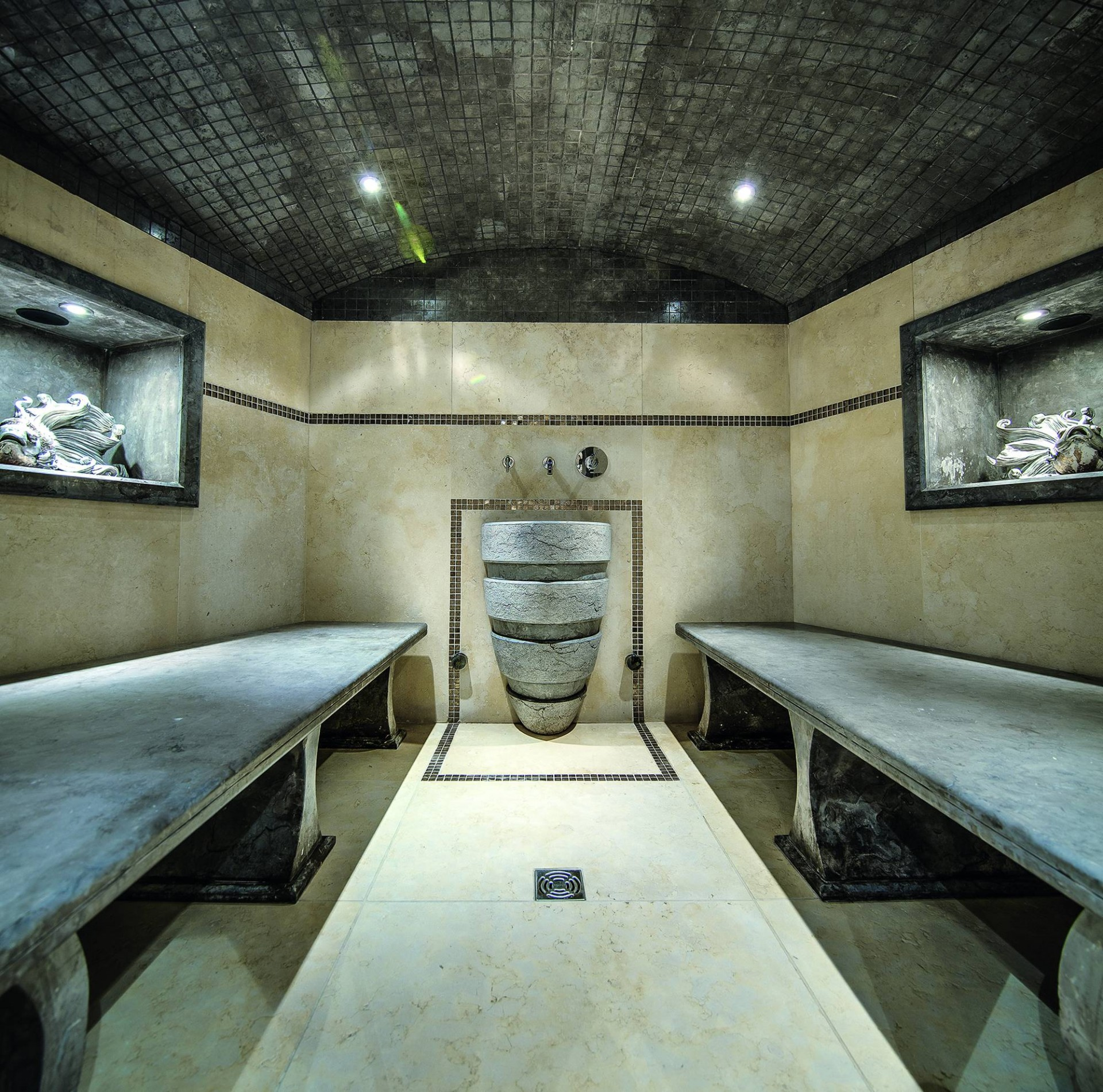 Courchevel 1850 Luxury Rental Chalet Bepalite Massage Room