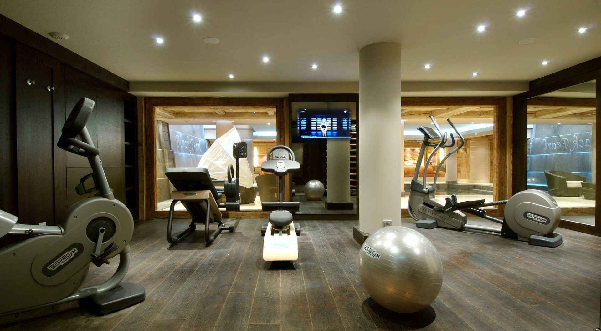 Courchevel 1850 Luxury Rental Chalet Bepalite Fitness Room