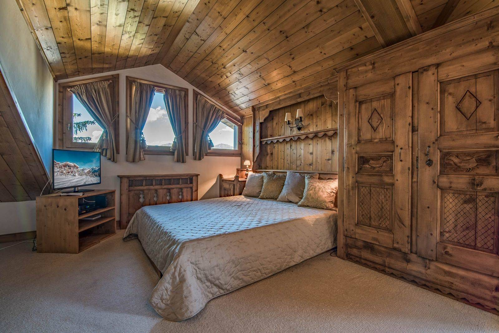 Courchevel 1850 Location Chalet Luxe Chrysoprase Chambre 3