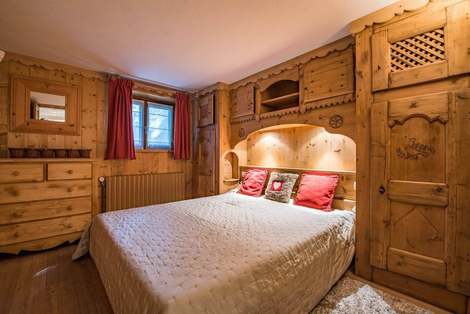 Courchevel 1850 Location Chalet Luxe Chrysoprase Chambre 4