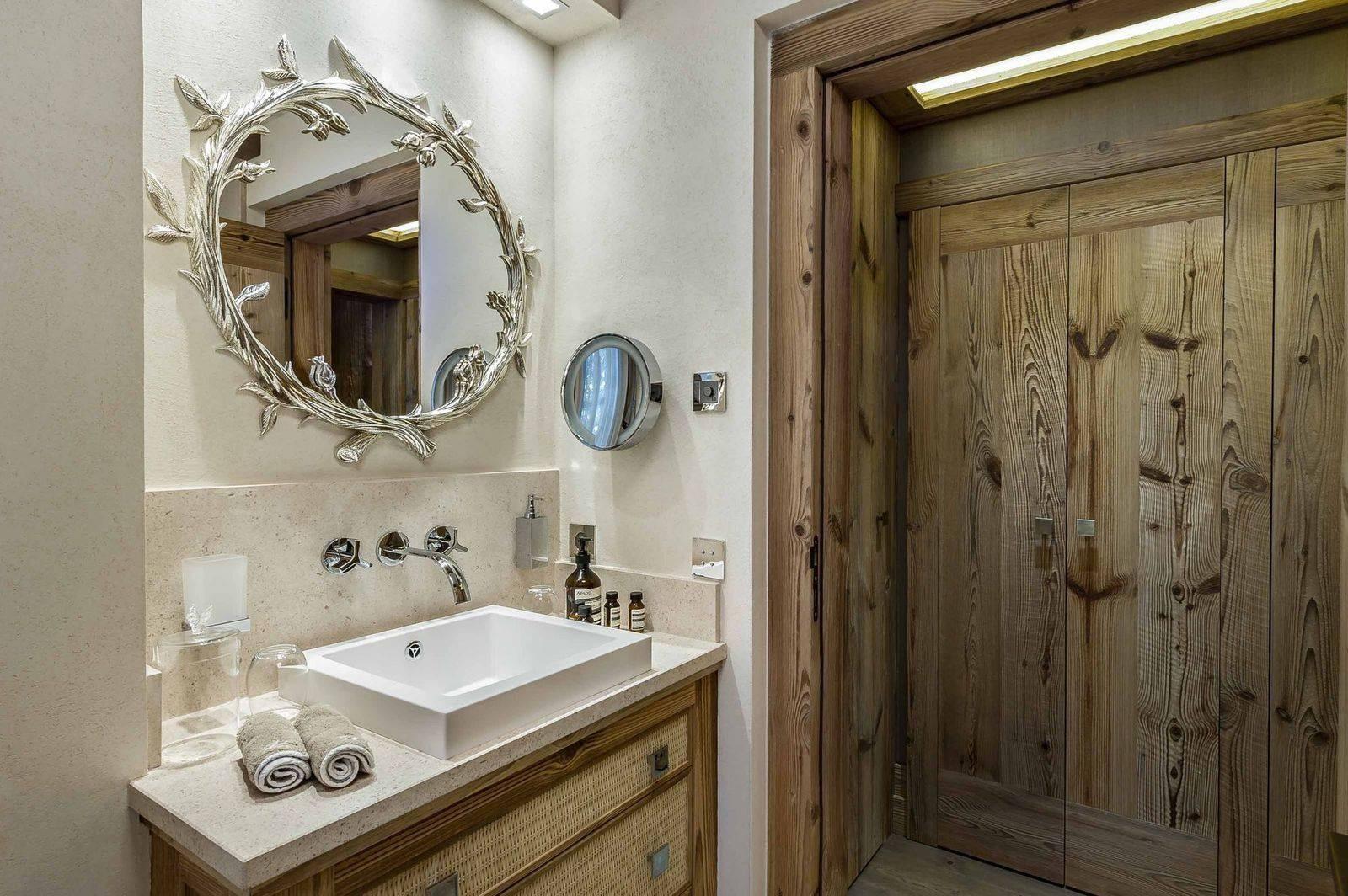 Courchevel 1850 Luxury Rental Chalet Chursinite Bathroom
