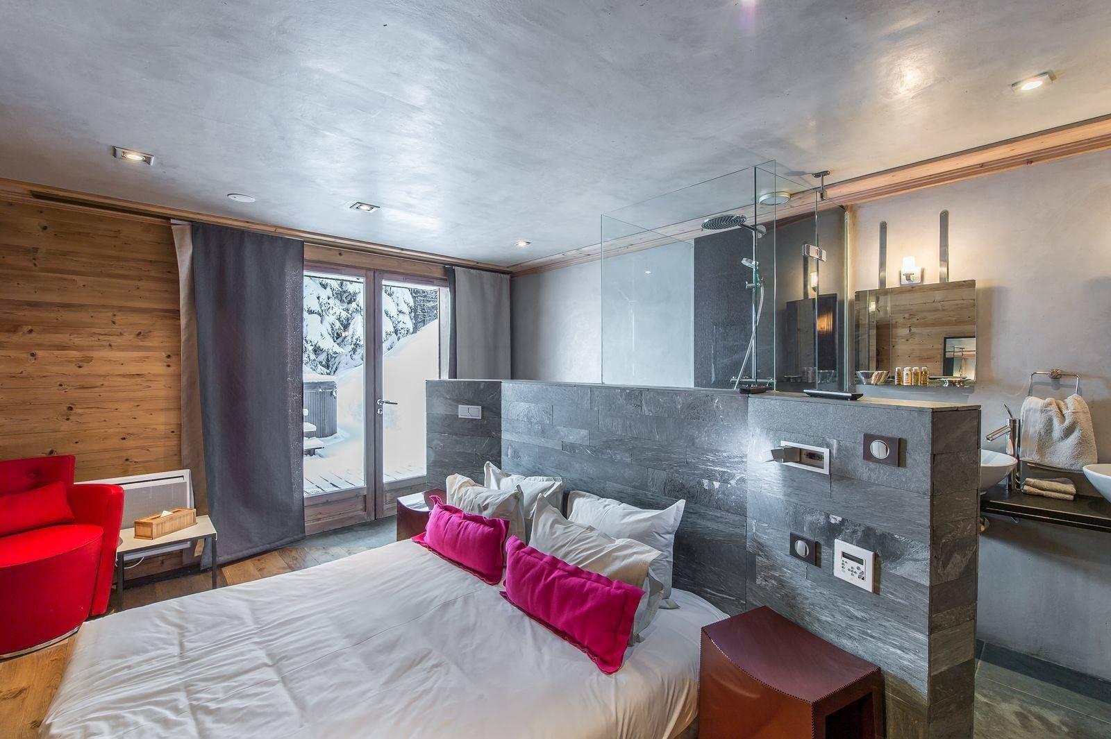 Courchevel 1850 Location Chalet Luxe Nigrine Chambre 3