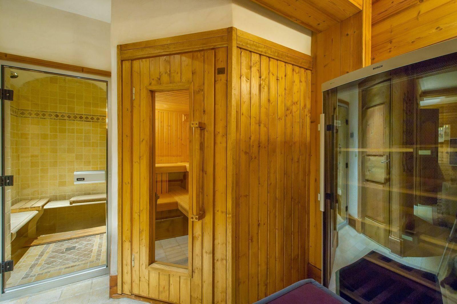 Courchevel 1850 Location Chalet Luxe Tancoite Sauna