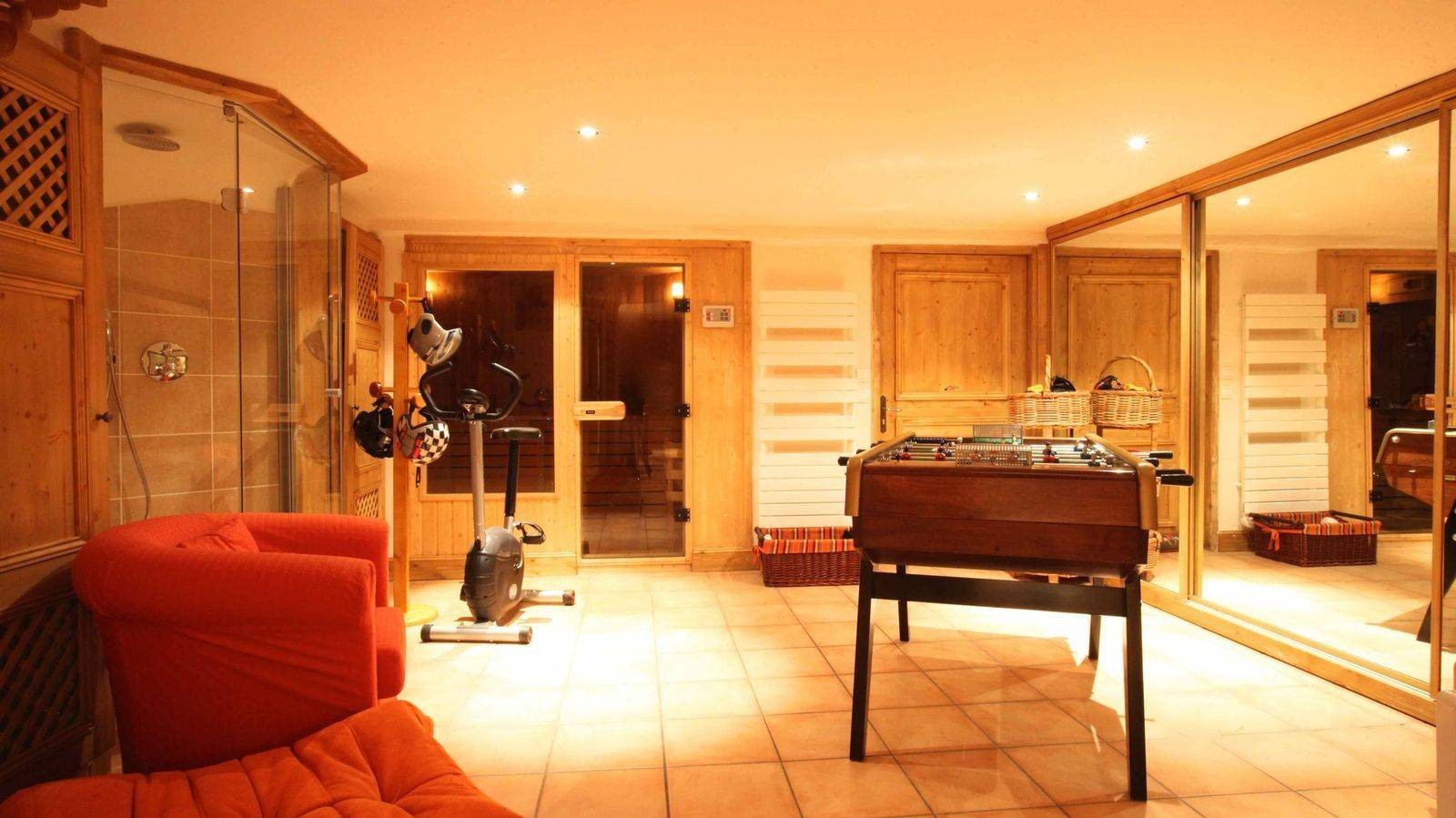 Courchevel 1850 Location Chalet Luxe Tantalite  Babyfoot