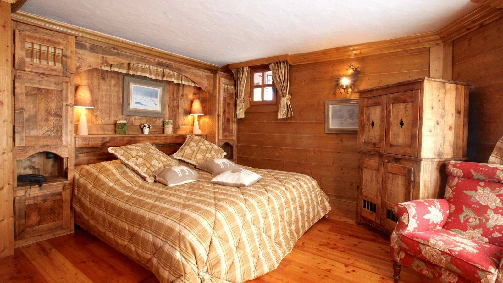 Courchevel 1850 Location Chalet Luxe Tantalite  Chambre