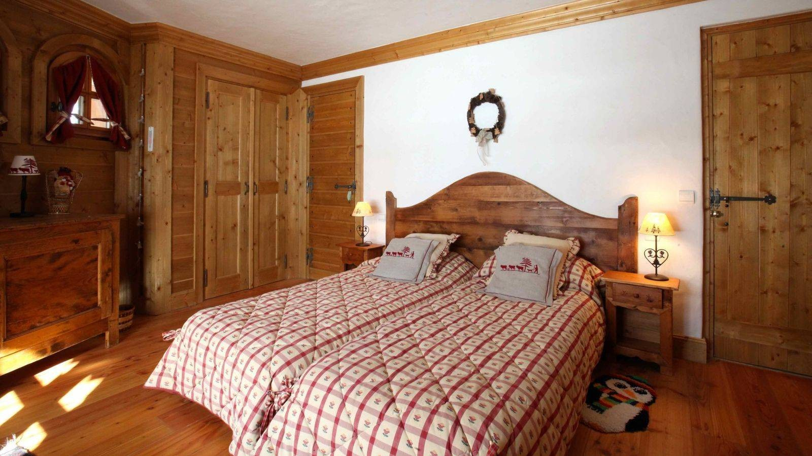 Courchevel 1850 Location Chalet Luxe Tantalite  Chambre 2