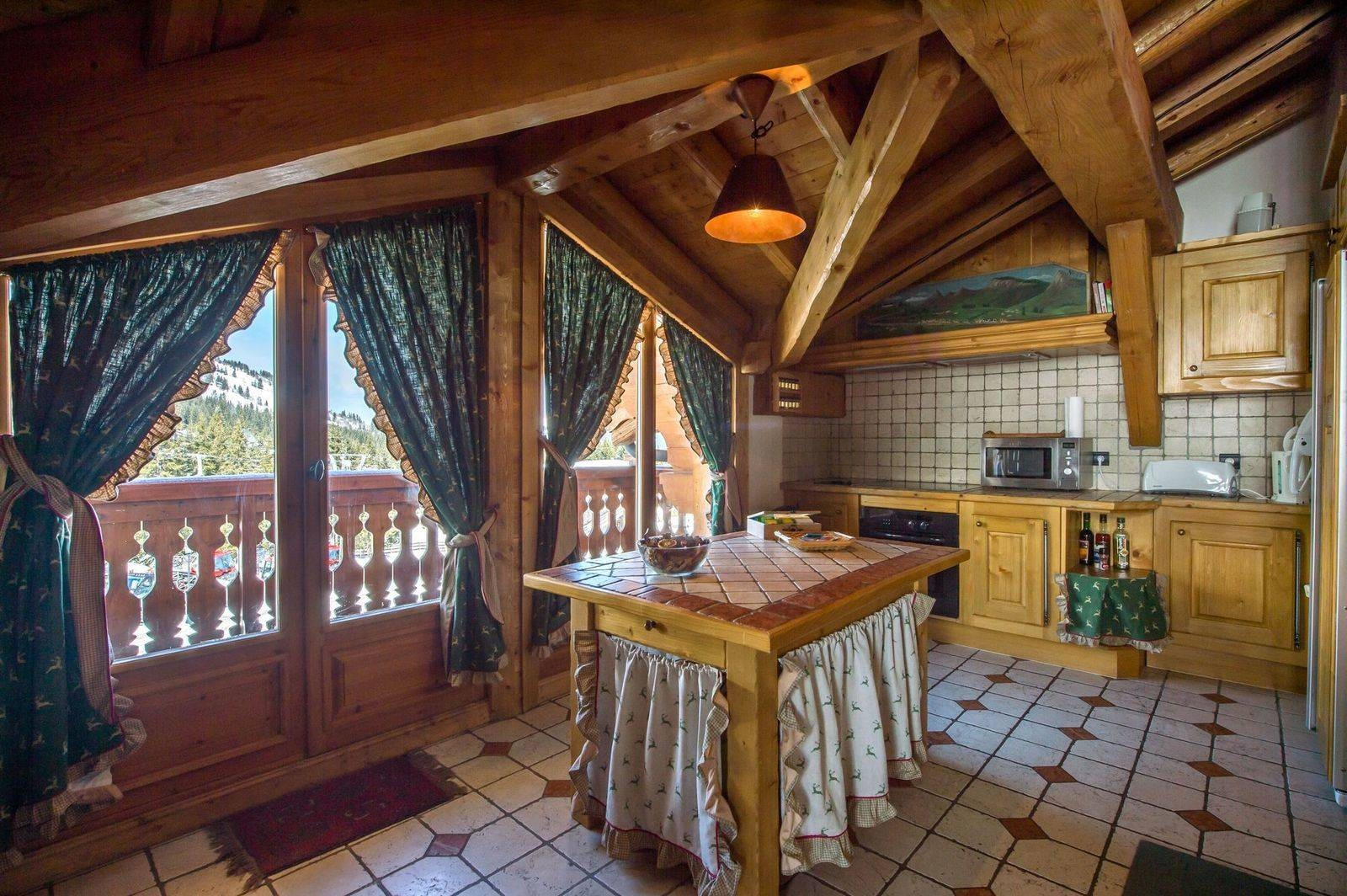 Courchevel 1850 Location Chalet Luxe Tantalite  Cuisine