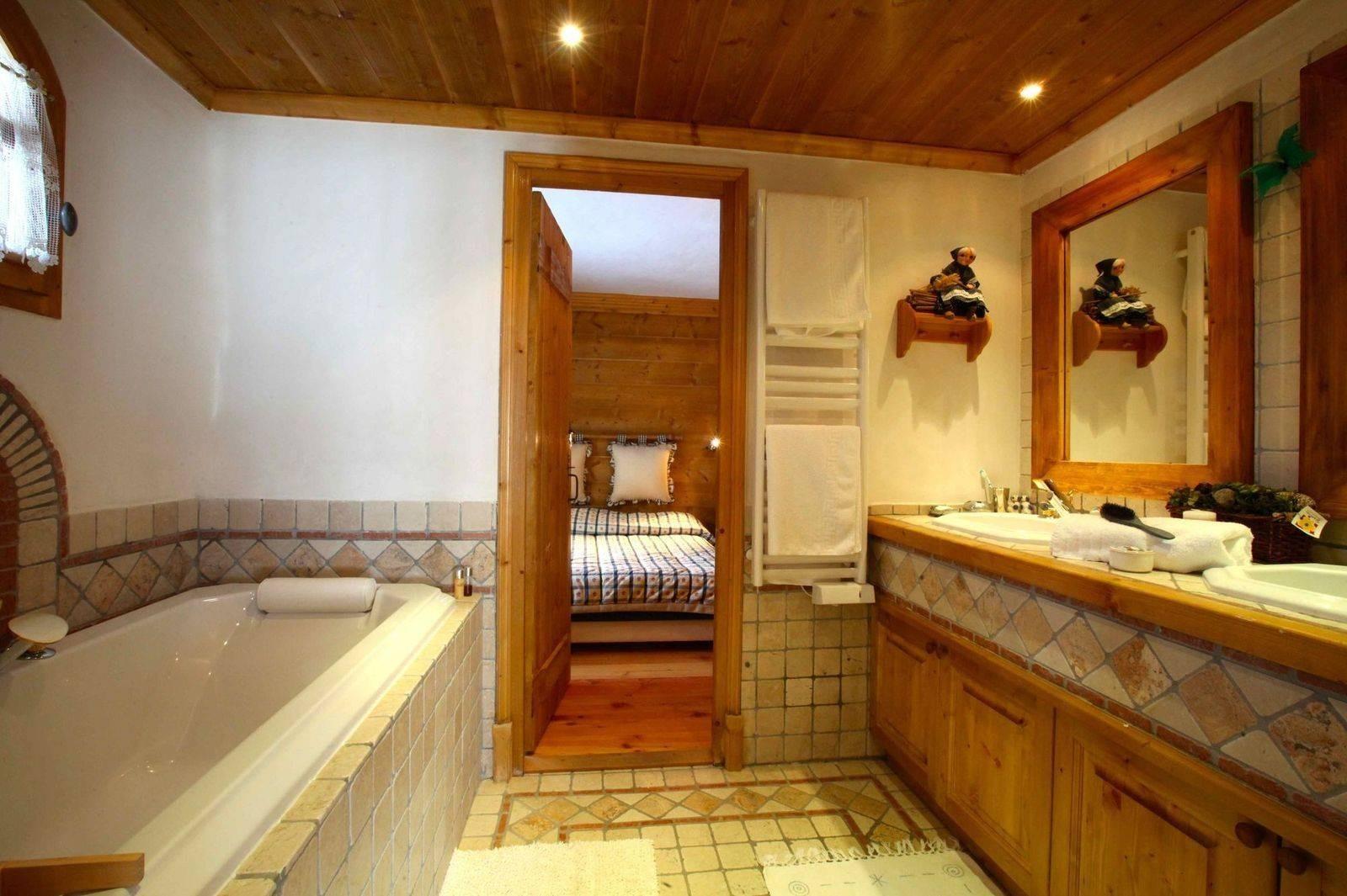 Courchevel 1850 Location Chalet Luxe Tantalite  Salle De Bain