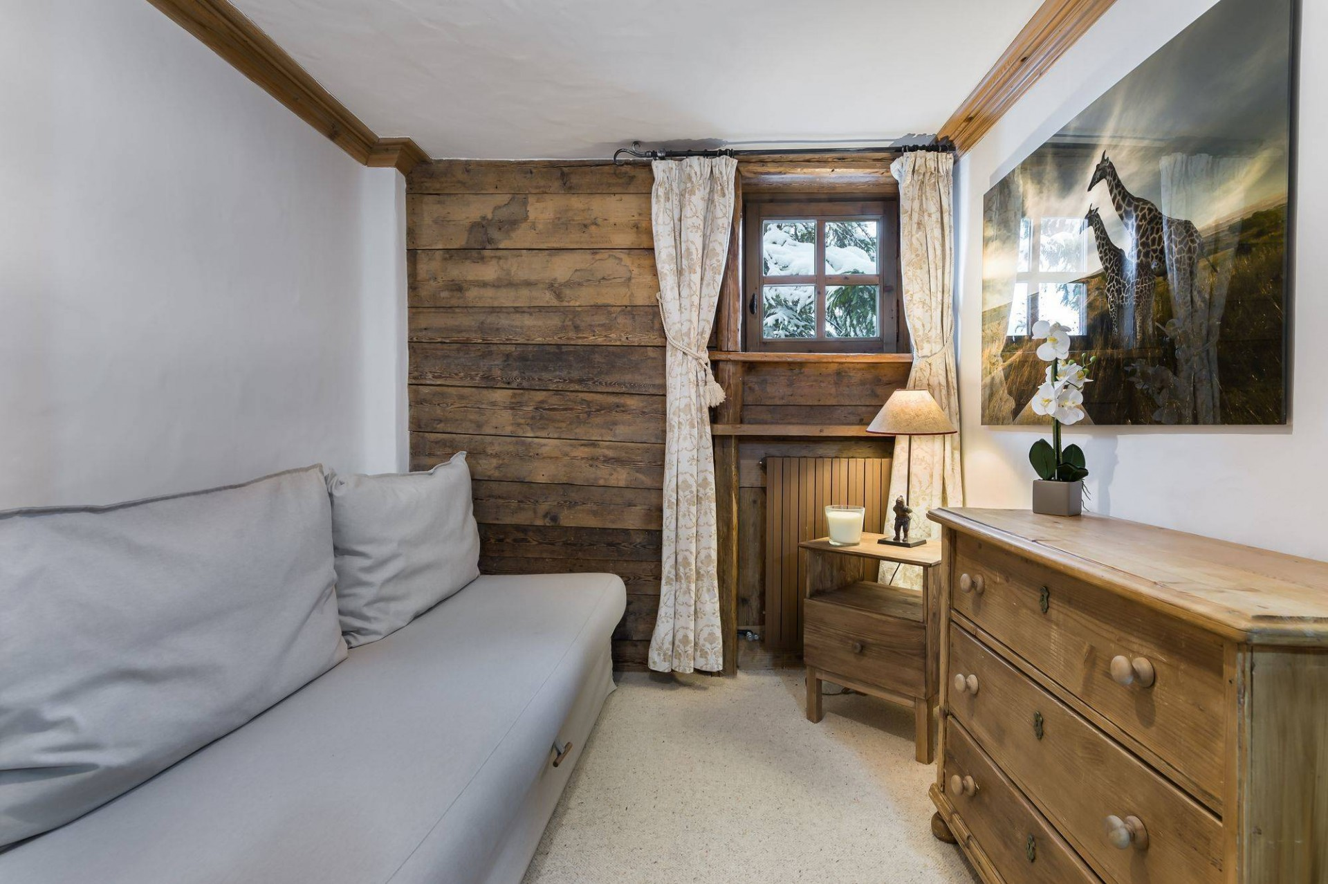 Courchevel 1850 Location Chalet Luxe Tazuy  Chambre