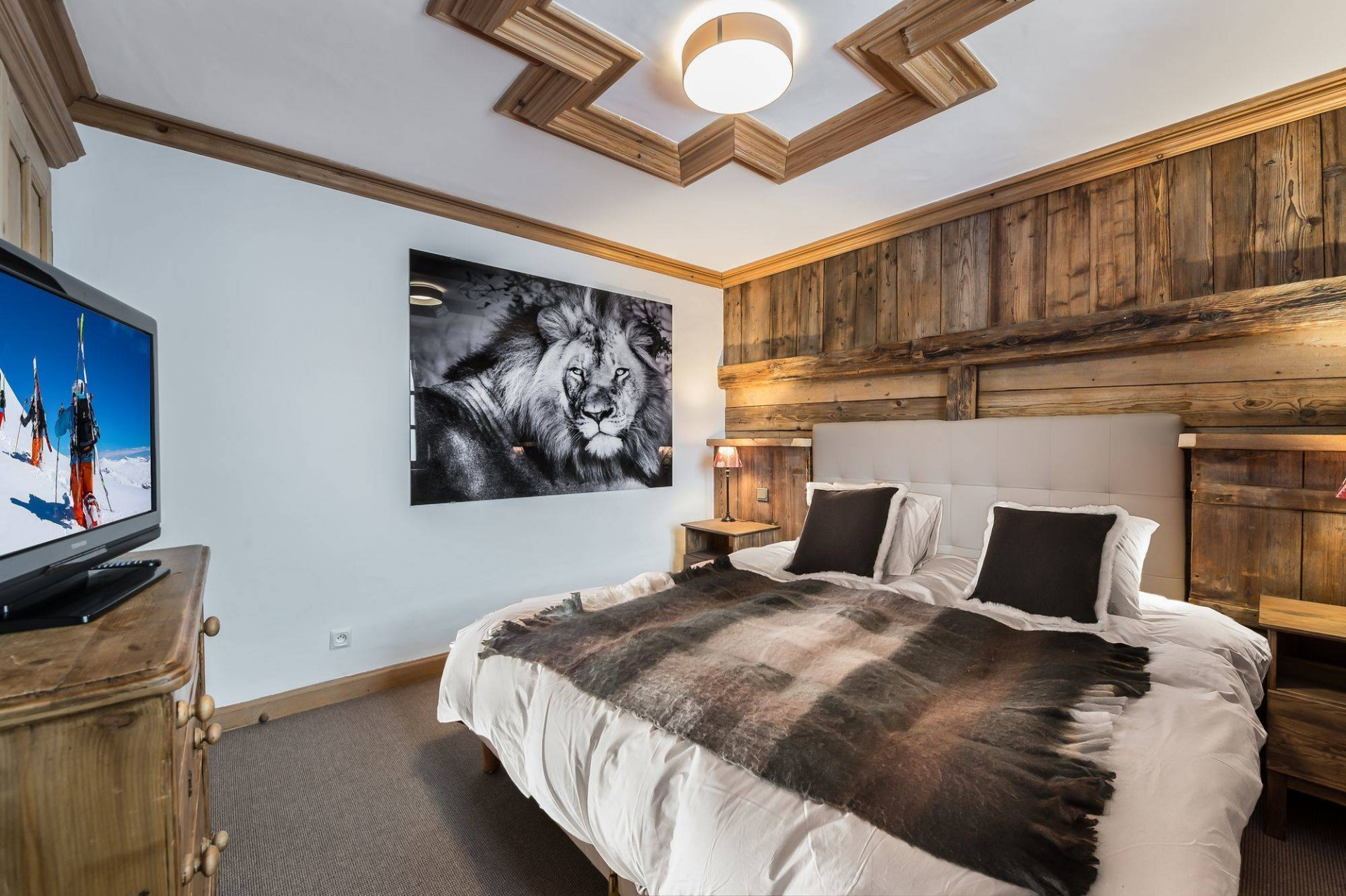Courchevel 1850 Location Chalet Luxe Tazuy Chambre 3