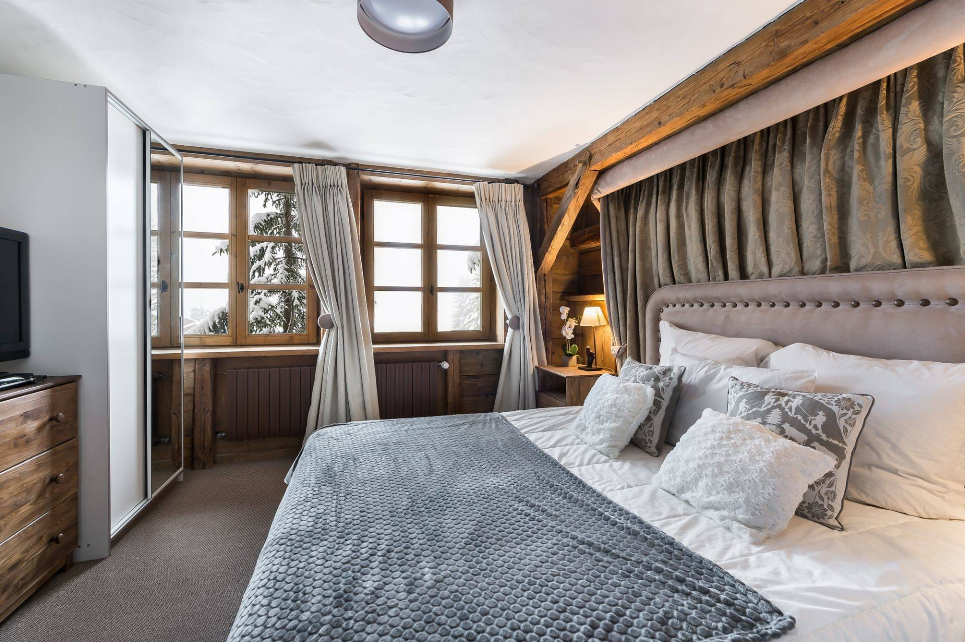 Courchevel 1850 Location Chalet Luxe Tazuy Chambre 4