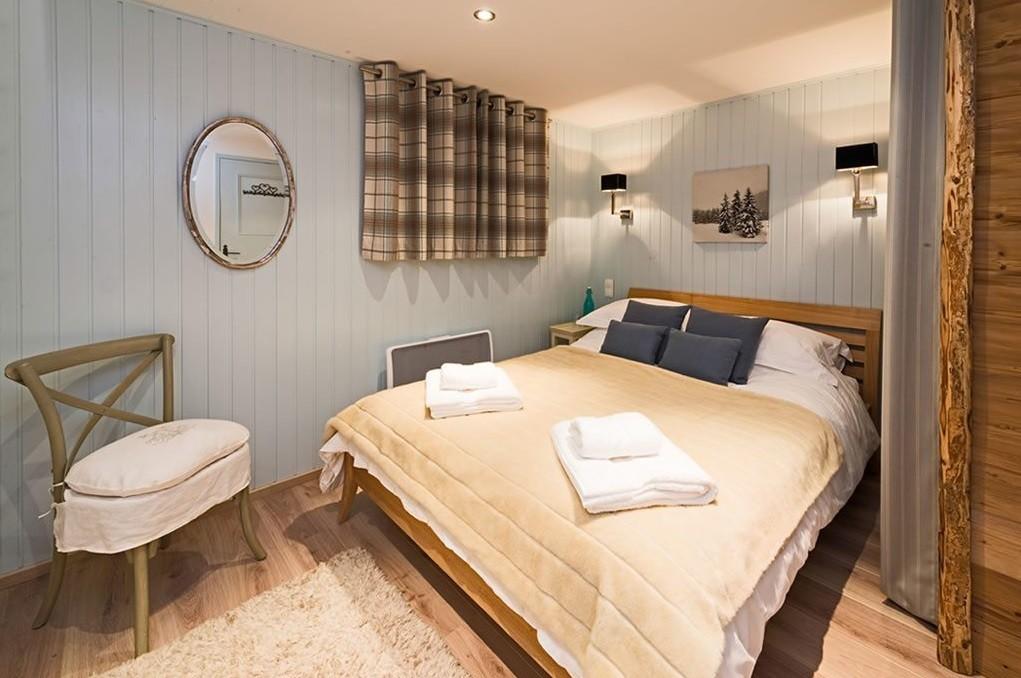 Courchevel Location Chalet Luxe Menilite Chambre 3