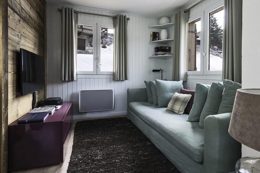 Courchevel Location Chalet Luxe Menilite Chambre