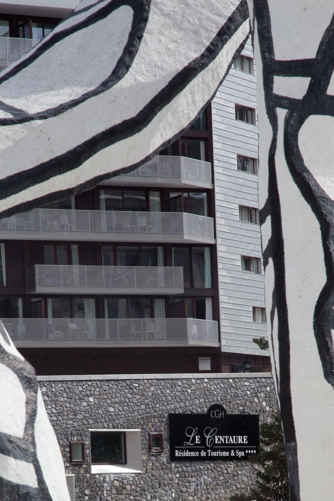 Flaine Rental Apartment Luxury Fangisse Outside 1