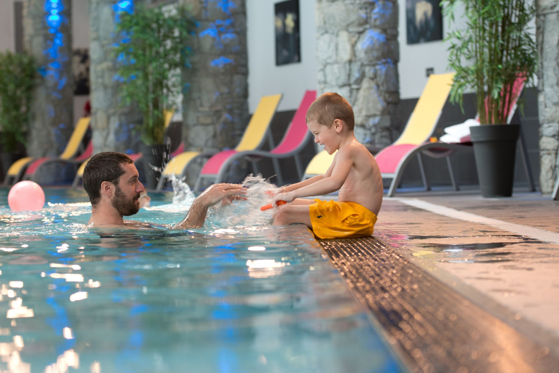 Flaine Rental Apartment Luxury Fangisse Swimming Pool